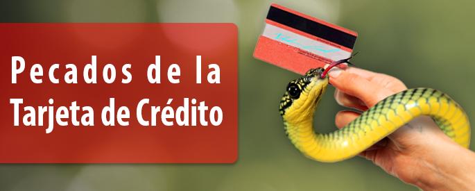Siete pecados capitales tarjetas de crédito