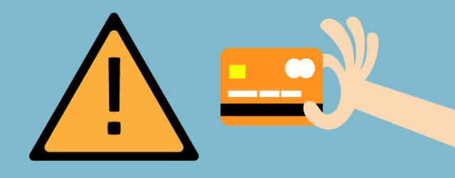 ¿Cuándo no debemos utilizar Tarjetas de Crédito por ningún motivo?