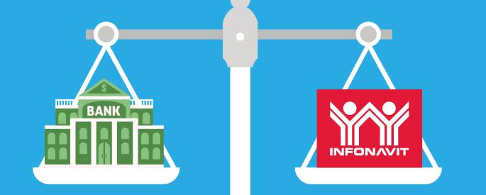Crédito INFONAVIT o Bancario, ¿Qué me conviene para comprar mi casa?