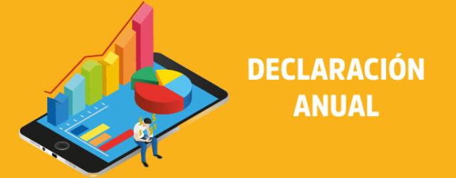 Declaración anual 2017